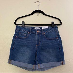 Sonoma Mid-Rise Denim Shorts Size 4